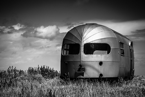medium_7509378126 Unclutter Photo: Airstream Trailer B&W