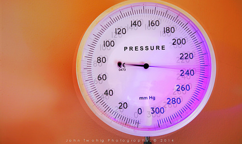 medium_14750996318 Too much at Thanksgiving: Photo os pressure gauge at 240 lbs